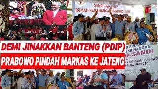 Download Video MARKAS PINDAH JATENG, PRABOWO PEDE JINAKKAN BANTENG (PDIP);SANDIAGA;ELEKTABILITAS NAIK;JAWA TENGAH; MP3 3GP MP4