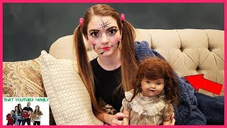 The DollMaker Is Turning Jordan Into A Doll!  The DollMaker Part 10 (Skit)/ That YouTub3 Family
