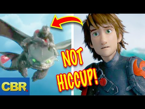 10 Dark Secrets About How To Train Your Dragon 3: The Hidden World