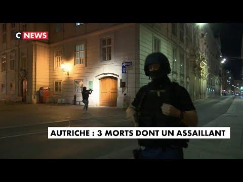 Attaque terroriste près de la grande synagogue de Vienne
