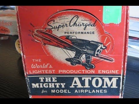 Atom 99  model engine  by Ray Arden