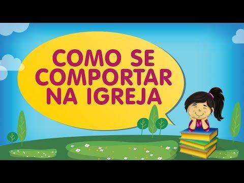 COMO SE COMPORTAR NA IGREJA | Histórias com a Tia Érika