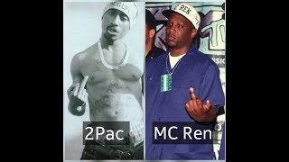 2pac, Mc Ren, Dj Orus - The Muthaphukin Real 2018