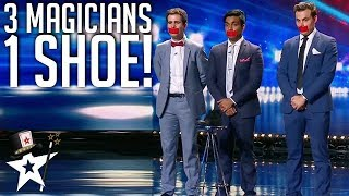 Video What Magicians Can Do With One Shoe! | Magician's Got Talent MP3, 3GP, MP4, WEBM, AVI, FLV Maret 2019