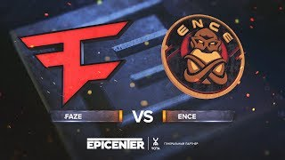 FaZe vs ENCE - EPICENTER 2018 - map1 - de_train [Enkanis, ceh9]