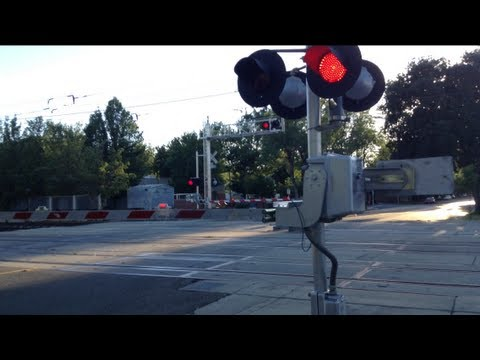 railroad crossing - I was hopping to catch a train today ether the SACRT light rail or Union Pacific but instead it was a signal malfunction. This wasn't the only crossing malfu...