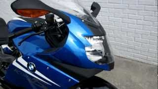 9. 2011 BMW K1300S with blue rims.AT PANDORA'S MOTORSPORTS