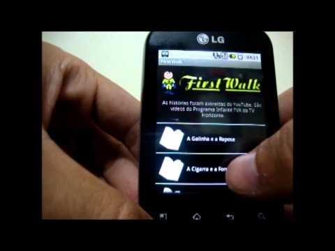Video of FirstWalk