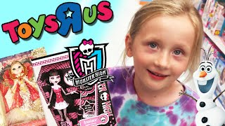 Video Giant Surprise Egg 2 - Monster High, Barbie, and Candy - Toys R Us Shopping Spree MP3, 3GP, MP4, WEBM, AVI, FLV Juni 2018