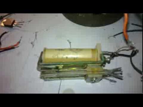 как сделать мини электро удочку