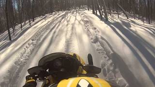 10. ski doo mxz 380 mid season ride