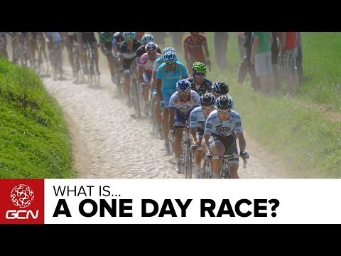 one day - What is a one-day bike race? How do the tactics differ from a stage race? Watch on to find out! Follow GCN on YouTube: http://gcn.eu/gcnsubs There are a larg...