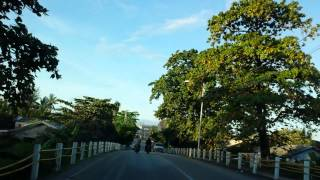Nauru - Early Morning on 11 May 2014. Driving counter-clockwise. 25 minutes around the whole country.