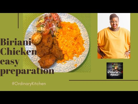 BIRIYANI CHICKEN BY MILLY CHEBBY
