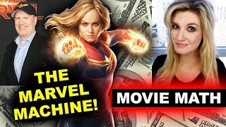 Box Office for Captain Marvel Second Weekend Drop