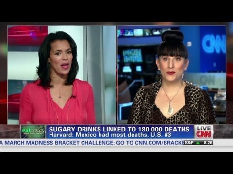 Sugary drinks linked to 180,000 deaths video