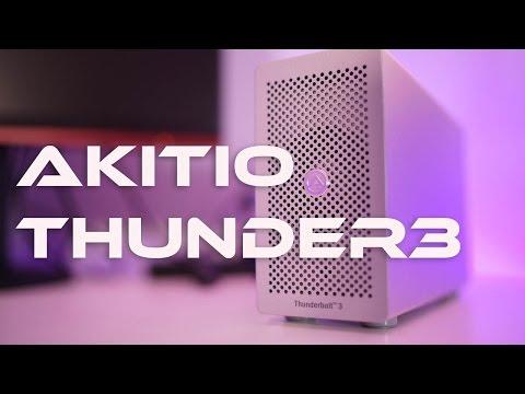 , title : 'Akitio Thunder 3 - The Razer Core Killer'