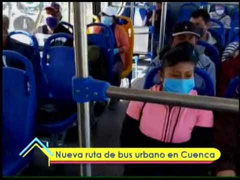 Nueva ruta de bus urbano en Cuenca