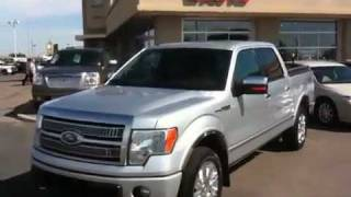 Used 2010 Ford F-150 in Lethbridge Alberta, Platinum Supercrew | Davis GMC Buick