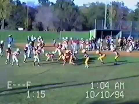 JRHFB Ellendale ND vs Edgeley-Kulm ND 10/10/1994 (видео)