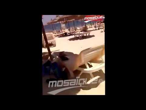 فيديو حصري لموزاييك : أثناء إطلاق النار من طرف الإرهابي في سوسة