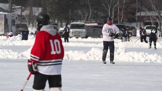 From Child's View, Parents Find Full-Ice Hockey No Fun