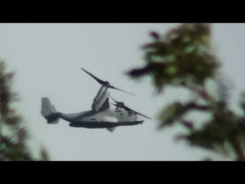 This is a video of a couple MV-22...