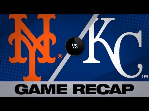Video: deGrom, Alonso lead Mets to 4-1 victory | Mets-Royals Game Highlights 8/17/19