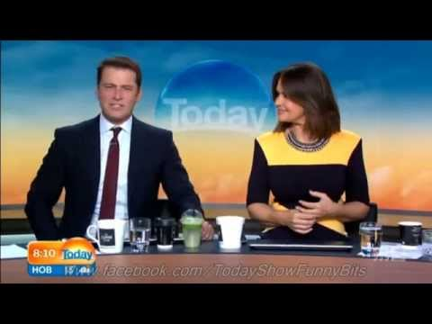 Today Show Funny Bits Part 67. High Heels & Mo Wives!