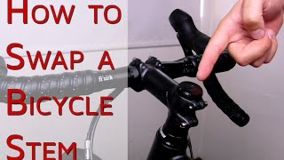 How to Swap the Stem on Your Bike | #CGT - Bike School