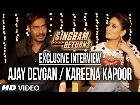 Exclusive Interview: Ajay Devgan and Kareena Kapoo