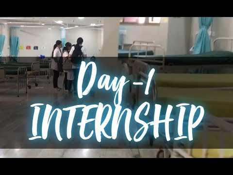 Life of a medical INTERN- Day 1