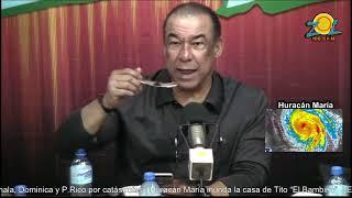 Comentando sobre lo ultimo del Huracán María en #ElSoldelaTarde