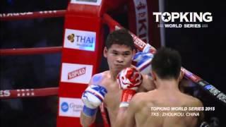 Zhoukou China  city photo : TK5 SUPERFIGHT :Apisak Fight Factory Gym (Thailand) VS Zhang Chunyu (China) (Full Fight HD)