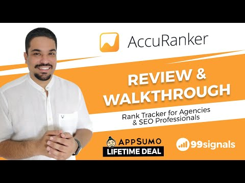 Watch 'AccuRanker Review & Walkthrough - SEO Rank Tracker for SEO Agencies & Professionals - YouTube'