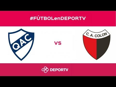 #FUTBOLenDEPORTV - EN VIVO - Quilmes vs. Colón