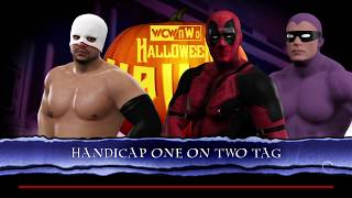 A requested 1 VS 2 Handicap Match with Diego VS Custom Characters Deadpool & The Phantom