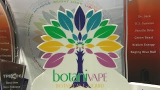 Vaping360 chats with E-Liquid Therapeutics CEO Nancy Kanthra about the Botanivape line of e-liquids. Infused with different vitamins, minerals, and herbs, Kanthra claims that Botanivape can help with certain health issues.See full article on Vaping360:► http://vaping360.com/botanivape-e-liquid-preview-interview/Follow us on Social media:►Facebook: https://www.facebook.com/Vaping360►Twitter: https://twitter.com/vaping360►Instagram: https://www.instagram.com/vaping360►Google+: https://plus.google.com/+vaping360►Flickr: http://www.flickr.com/photos/vaping360