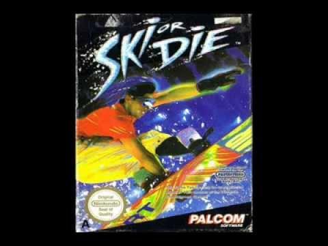 ski or die nes controls