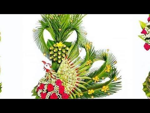 [Dạy làm mâm quả cưới rồng phượng] #1 Làm cây cau con phượng trong mâm quả đám cưới