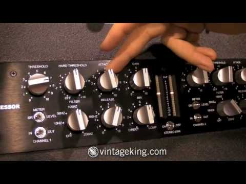 A Designs Nail Compressor | Vintage King Audio