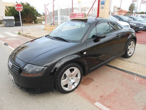See video Audi TT 1.8TURBO QUATTRO