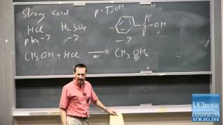 Organic Chemistry 51C. Lecture 07. Acid-Catalyzed Formation Of Hydrates, Hemiacetals,&Acetals.