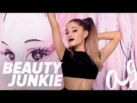 Ariana Grande on Her Hilarious YouTube Makeup Tutorial!