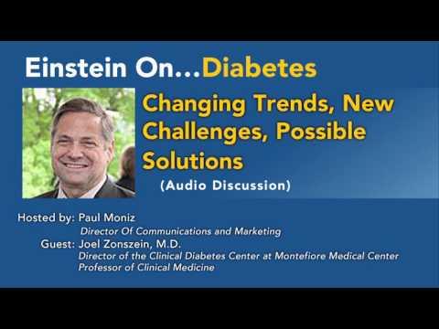 Diabetes: Trends, Herausforderungen, Lösungen, Dr. Joel Zonszein