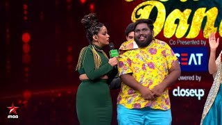 Mumaith Khan adds spice to the show  NeethoneDance