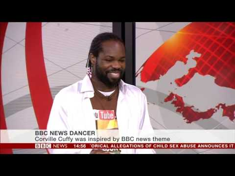 BBC News Channel: Corville Cuffy Dancing - 16th December 2016