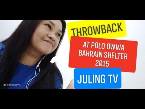 #THROWBACK AT POLO OWWA BAHRAIN SHELTER 2015 #OFW SAUDI #DESTRESS OFW BAHRAIN