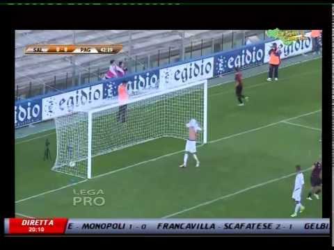 salernitana - paganese 1-0  la sintesi - gol di calil