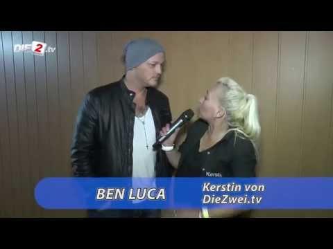 Interview mit Ben Luca beim Warm-Up in Oberhausen